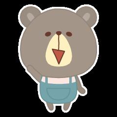 会話を終わらせたいクマ