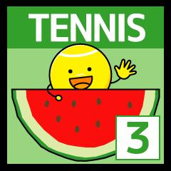 テニス大好き3 ちょっと夏