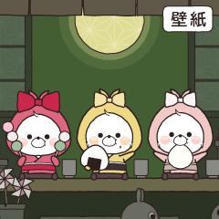 お茶会(くまのさと)